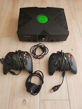 Xbox Classic Konsole 1. Generation mit EvoX Festplatte und 2 Controller