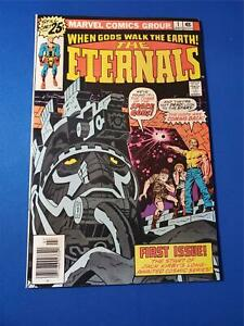 Eternals #1 VF White Pages