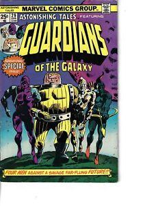 Astonishing Tales 29 Guardians Of The Galaxy VG/F 1975 Glossy
