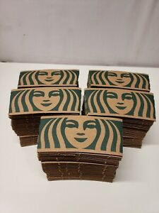 150 Starbucks Earthsleeve-Hot Cup Coffee Sleeve-Cardboard