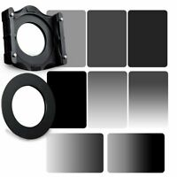 ZOMEI 4x6in GND grey ND 2/4/8/16 ND Filters&95mm Ring+Holder Kit For Cokin Z