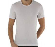Dolce & Gabbana T-shirt collo R  cotone COSTINE stretch bianco D&G € 100 M
