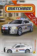 Matchbox New  - White Dodge Charger Pursuit Canada Police Car