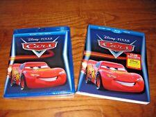 Cars:Disney PIXAR (Blu-ray+ DVD+ Digital HD 2017) DMC EXCLUSIVE] New+ Fast Ship