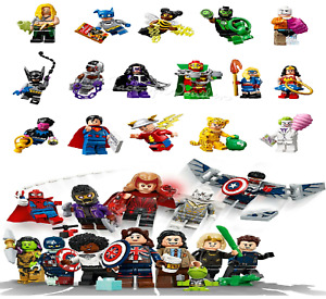 LEGO DC & MARVEL Super Heroes Series Minifigures 71026 & 71031 Batman Vision NEW