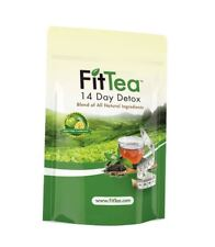 Fit Tea 14 Day Detox All Natural Non GMO Fast Factory