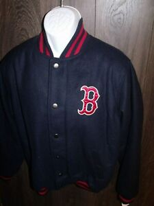 NWT Boston Red Sox Wool Blend Jacket MED GIII Sports msrp 99.99 Official Merch