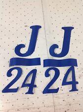 J24 mainsail Insignia