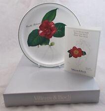 Villeroy & and Boch Nocolas Liex plate 2000 Camellia Rubricanlis BOXED BM409