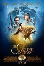 THE GOLDEN COMPASS MOVIE POSTER DS ORIGINAL Ver B 27x40