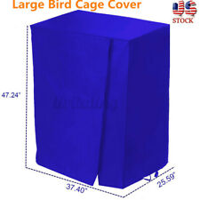 Waterproof Bird Cage Cover Large Parrot Canary Good Night House Protection Pets