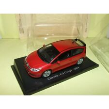 CITROEN C4 COUPE 2004 Rouge UNIVERSAL HOBBIES 1:43 sous blister