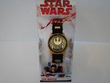 Youth Boys Girls Kids Star Wars The Last Jedi Rebels LCD Watch