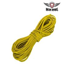 Yellow Leather Lace for Chaps, Vests, Bags, Boots, Arts & Crafts (50 Feet Long)