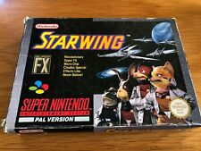 Super Nintendo SNES PAL Starwing Boxed With Instructions Gwo Free Uk Postage
