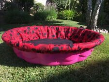 Small Fleece Whelping Pool Box Cover - Litters Puppies - Kiddie Wading Pool