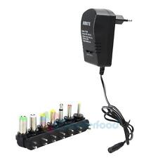 3A Universal AC DC Adapter Converter 6 Plugs  3 4.5 6 7.5 9 12v  Power Charger