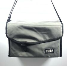 "Tenba Gray Shoulder Carry Canvas Camera Bag 12""X 8"""