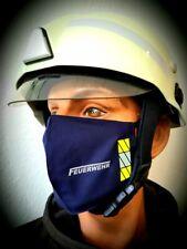 Mund-Nasenmaske Gesichtsmaske Mundschutz  Feuerwehr 2020 NEU