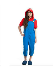 Nintendo Super Mario Bros. (MARIO) Lounger Kigurumi Bodysuit Costume Halloween