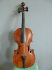 ANTIQUE LION SCROLL STAINER VIOLIN -  GERMAN COPY DATED 1872