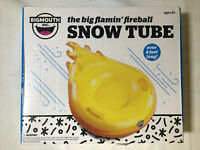 Big Mouth Snow Tube Flamin' Fireball