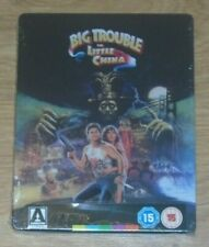 Big Trouble in Little China (blu-ray) Steelbook. NEW & SEALED (UK release).