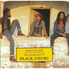BLACK UHURU - WHAT IS LIFE - CD ALBUM our ref 1724