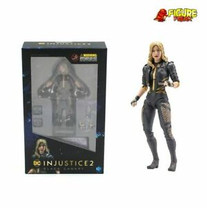 """Hiya Toys DC Comics Injustice 2 Black Canary 3.75"""" Action Figure (1:18 Scale)"""
