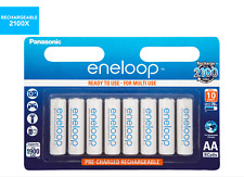 8x Panasonic Eneloop AA Rechargeable Ni-MH Batteries - Made in Japan | Aus Stock
