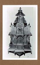 RPPC Spillville,IA Iowa George Washington Clock, work of BILY BROTHERS
