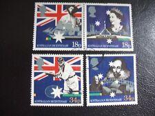 SG1396-1399 1988 Bicentenary of Australian Settlement. Used Set of Stamps
