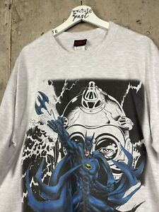 Vintage 1997 Batman & Mr. Freeze DC Comic Tee Shirt Size XL