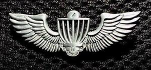 """New-Disc Golf Pin-Ace Your Face-2"""" Across 3D antique silver"""