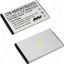 3.7V 900mAh Replacement Battery Compatible with Samsung AB463651BUCSTD
