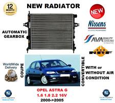 Pour Opel Astra G 1.6 1.8 2.2 16 V Coupé Cabriolet 2000-2005 radiateur OE QUALITY