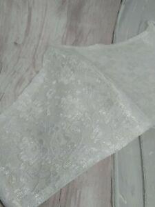 Wedding bride bridesmaid face mask white lace uk