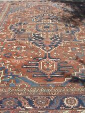 Large /largest over size   12 by 16 Persian Antique Heritz/Serapi rare piece .