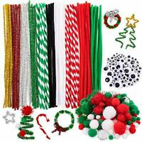 Christmas Pipe Cleaners Set 350Pcs Including Craft Chenille Stems Googly Eyes...