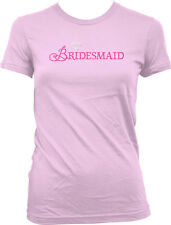 Bridesmaid Wedding Bridal Party Diamond Ring Bachelorette Bride Juniors T-Shirt