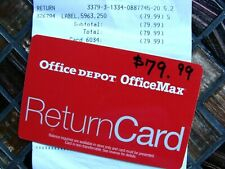 Office Depot Office Max New Unused Gift Card $79.99