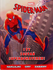 Polish Book - Spiderman - You Become a Superhero! I Ty Zostań Superbohaterem!