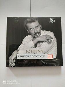 Johnny Acte II Johnny Hallyday Interprète Format CD . Neuf sous blister.