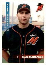 1997 High Desert Mavericks Grandstand #14 Matt Marenghi Las Vegas Nevada NV Card