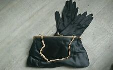 Bag and Glove Ariane Vintage Evening Satin