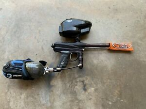 dye dm5 paintball marker and accessories
