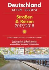 Shell Stra�Ÿen & Reisen 2017/18 Deutschland NEU 1:300.000, Alpen, Europa 2016 TB