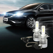 H4 HB2 9003 600W 72000LM LED Headlight Kit High/Low Beam Bulbs White 6000K Power