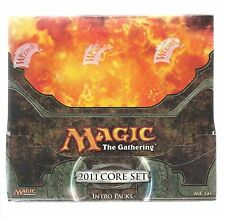 Magic the Gathering 2011 Core Edition (M11) Intro Deck Sealed Box - 2 Each Deck