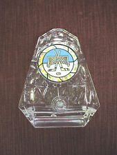 clear ice Hockey skate trophy award blue and gold insert
